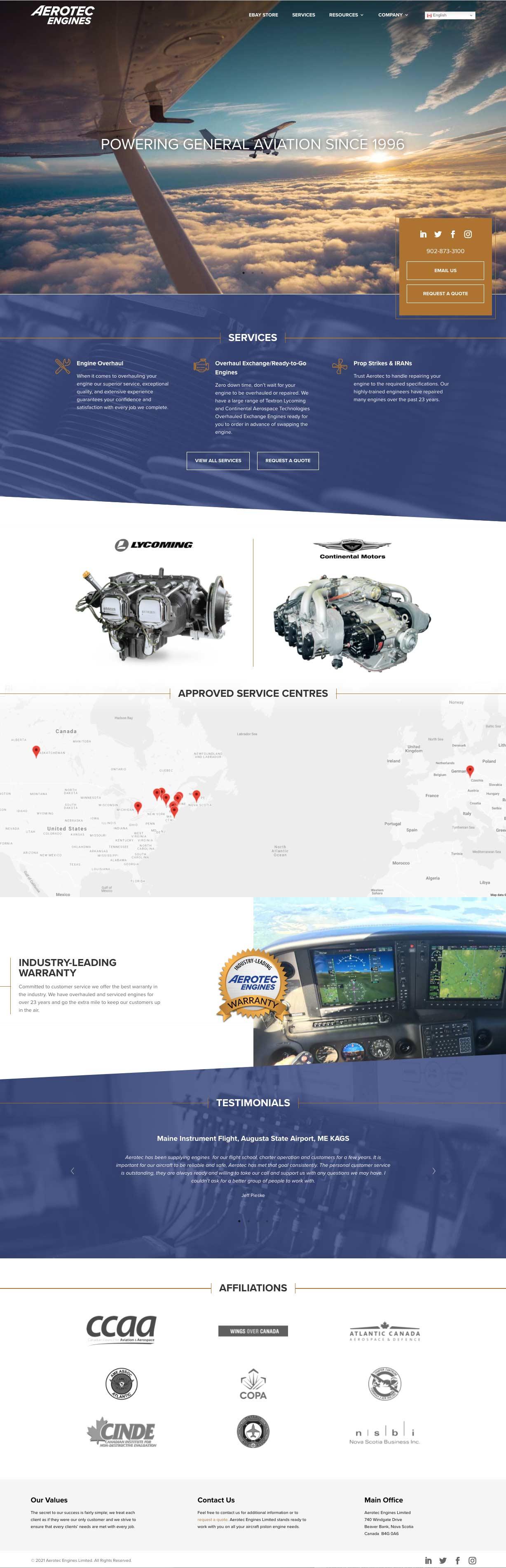 Aerotec Engines